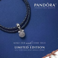 PANDORA Black Friday Charm