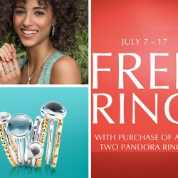 Happy Free Pandora Rings! July 7th - 17th