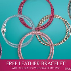PANDORA Free Leather Bracelet July 9th -19th