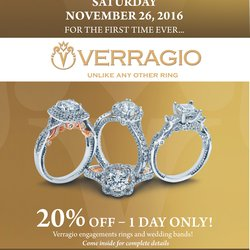 Verragio Bridal Celebration - November 26th