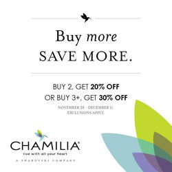 Camilla's Buy More Save More is Here!