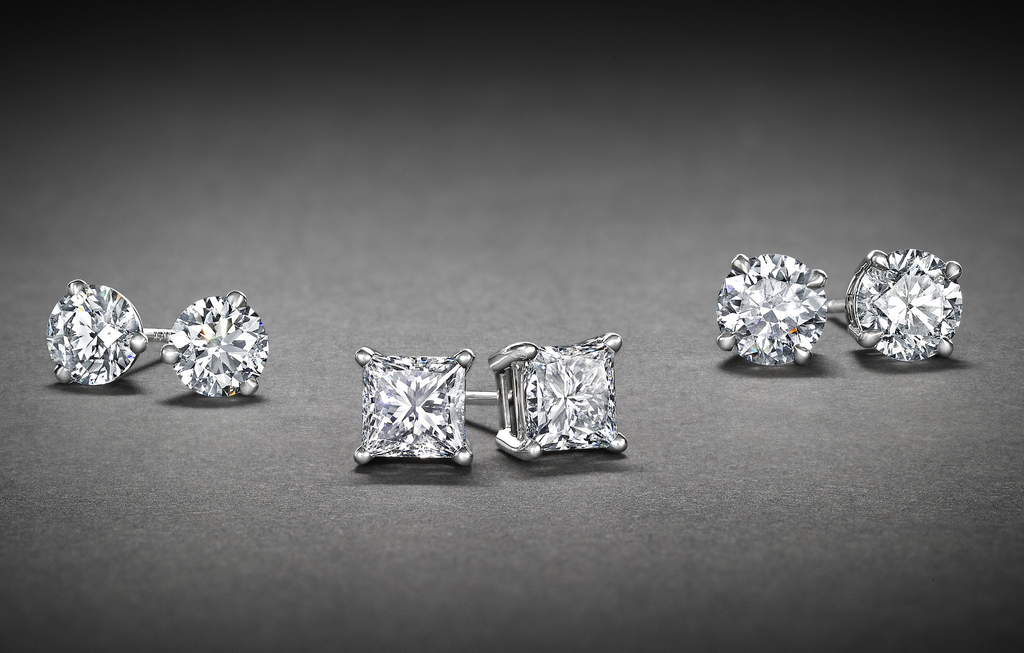 Diamond Stud Earrings Jewelry Essentials